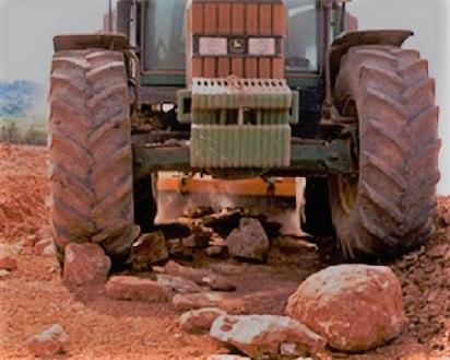 Machacadora de piedras