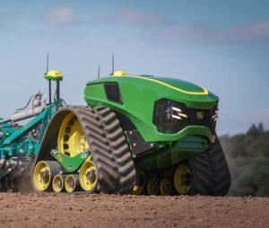 El Tractor Autónomo Eléctrico de John Deere